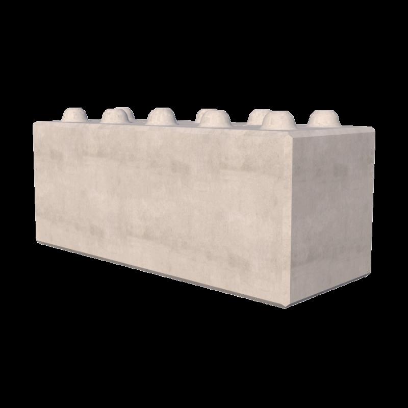 1500mm Concrete Lego Blocks