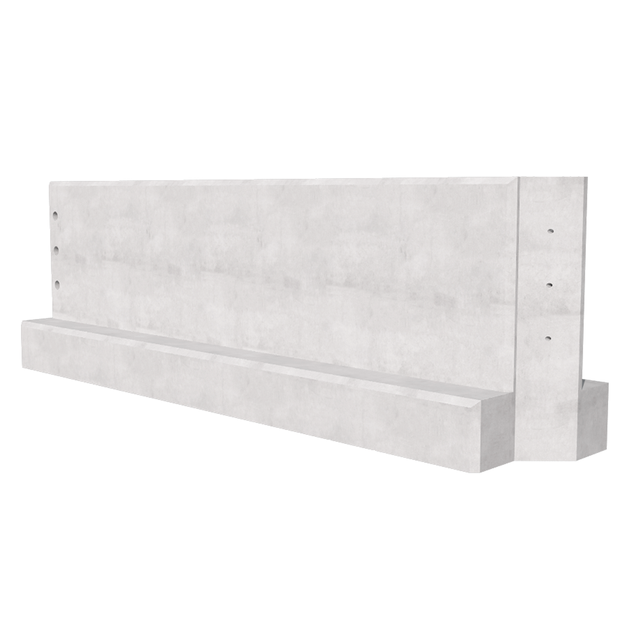 3000mm Concrete Barriers
