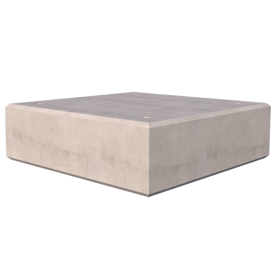 5760kg Concrete Ballast Block